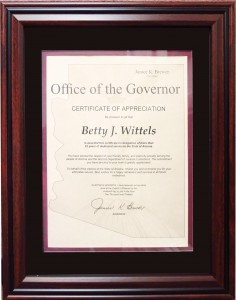 Governor's Award